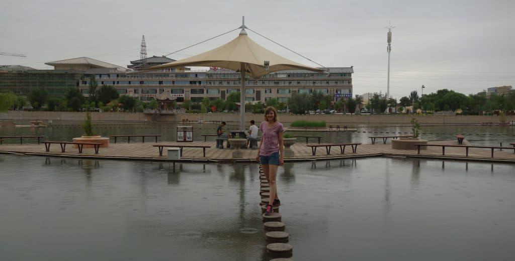 Platform Park, Dunhuang, China
