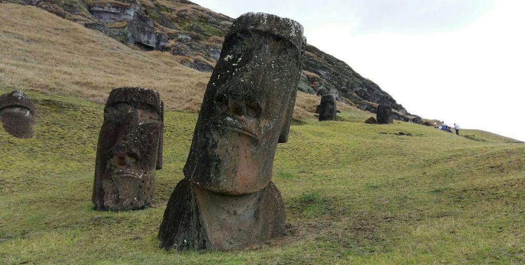Rano Raraku Quarry, Easter Island, Rapa Nui, Chile