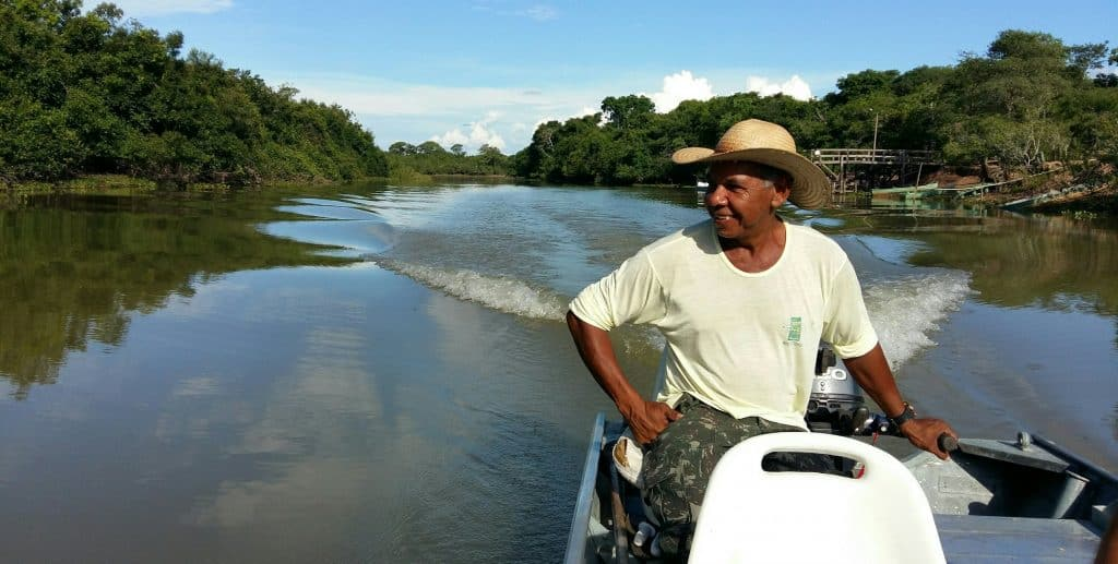Boat ride, Rio Claro, Pantanal, Brazil