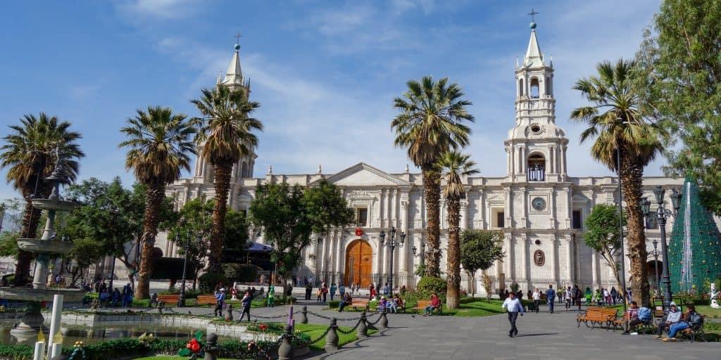 Cathedral, Arequipa, Peru