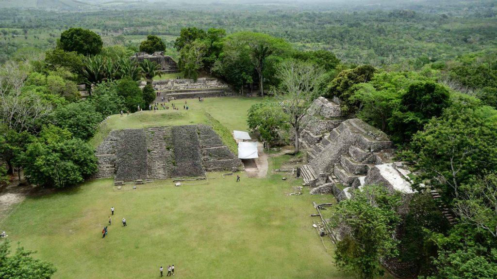 Mayan ruins in San Ignacio, Belize