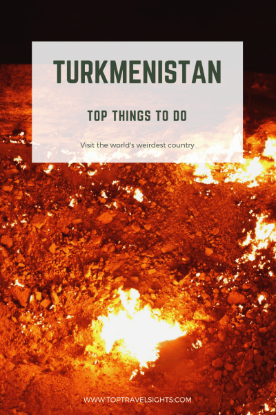 Pinterest image for top things to do in Turkmenistan