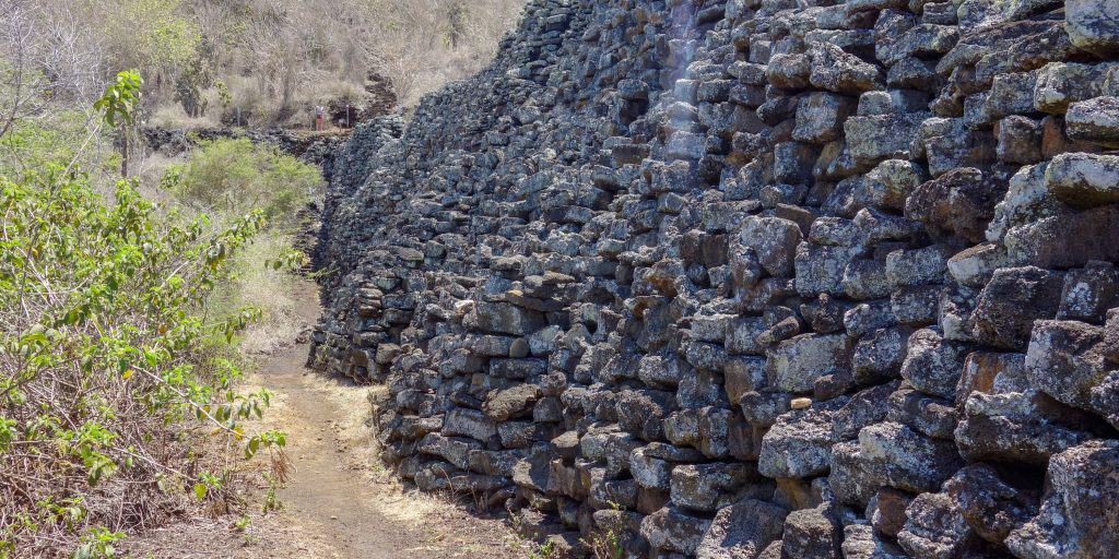 Wall of Tears, Muro de las lagrimas, Isabela Island, Galapagos, Ecuador