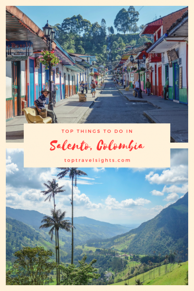 Pinterest image for Salento, Colombia