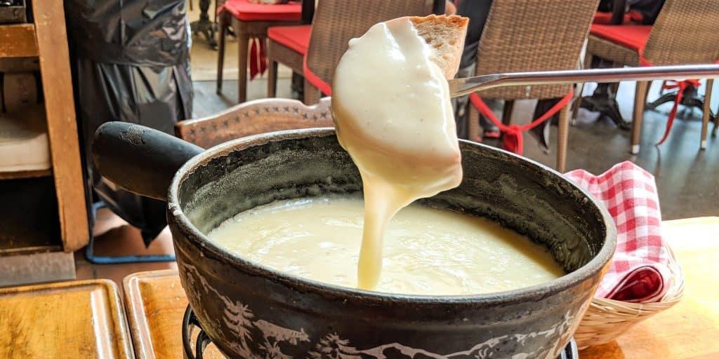 Cheese fondue, Switzerland