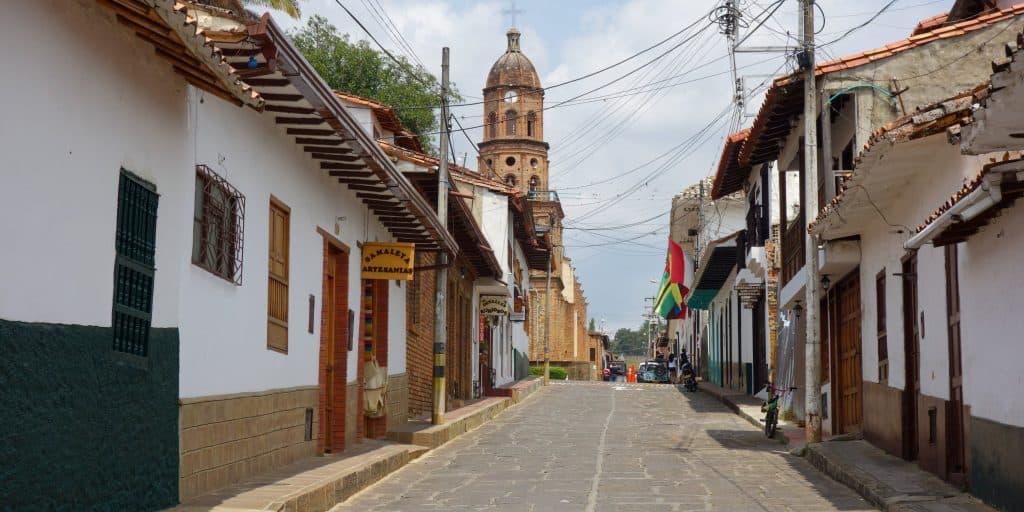 Curiti in Colombia