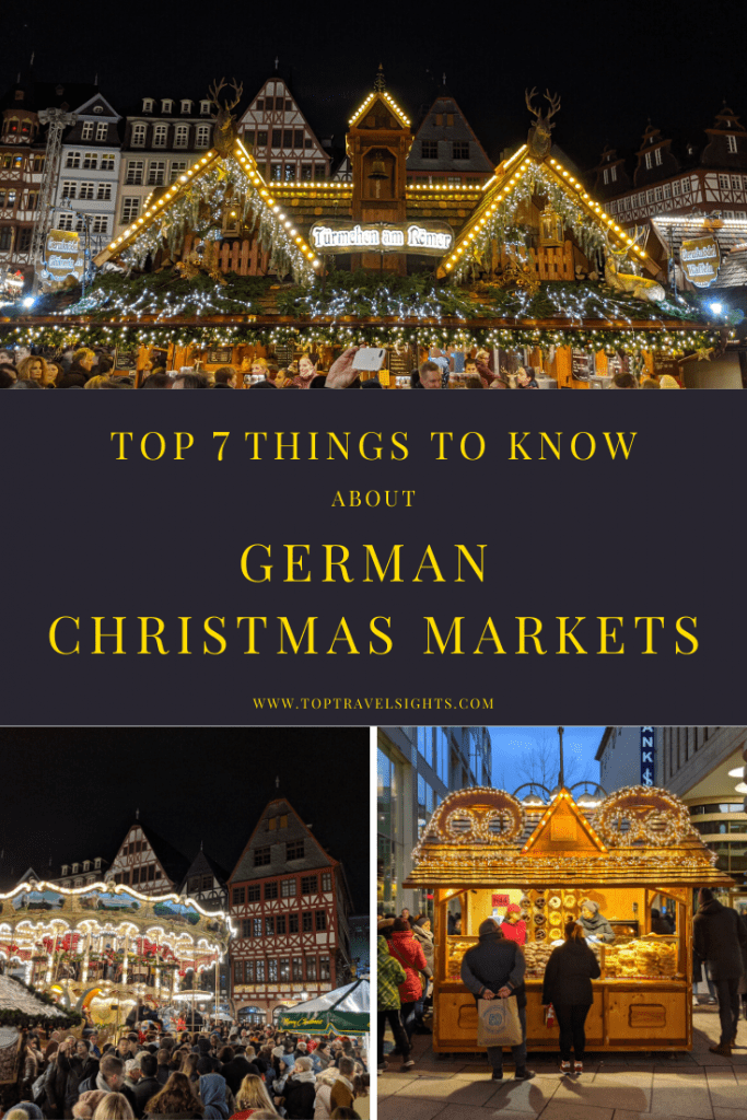 Pinterest image for Top 7 Things to Know about German Christmas Markets
