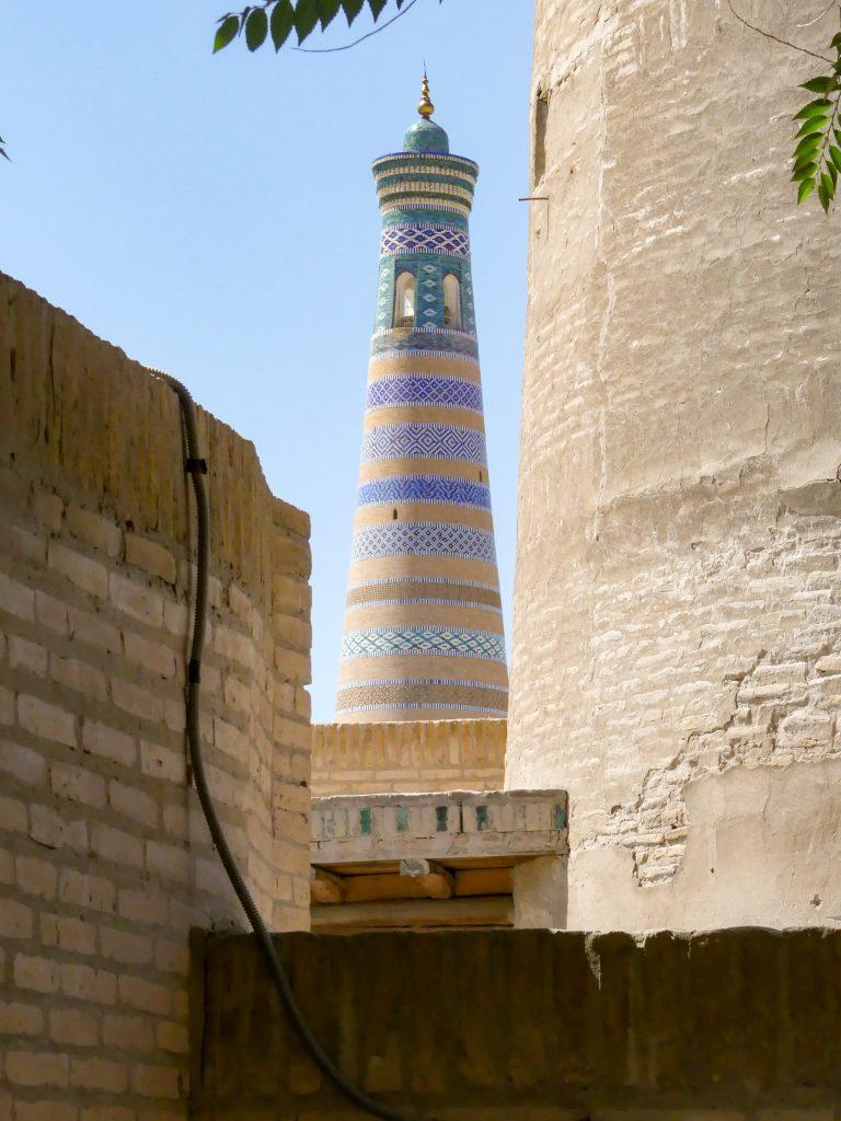 Islam-Khodja minaret, Khiva, Uzbekistan