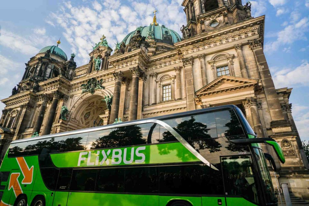 Bus from Flix Bus