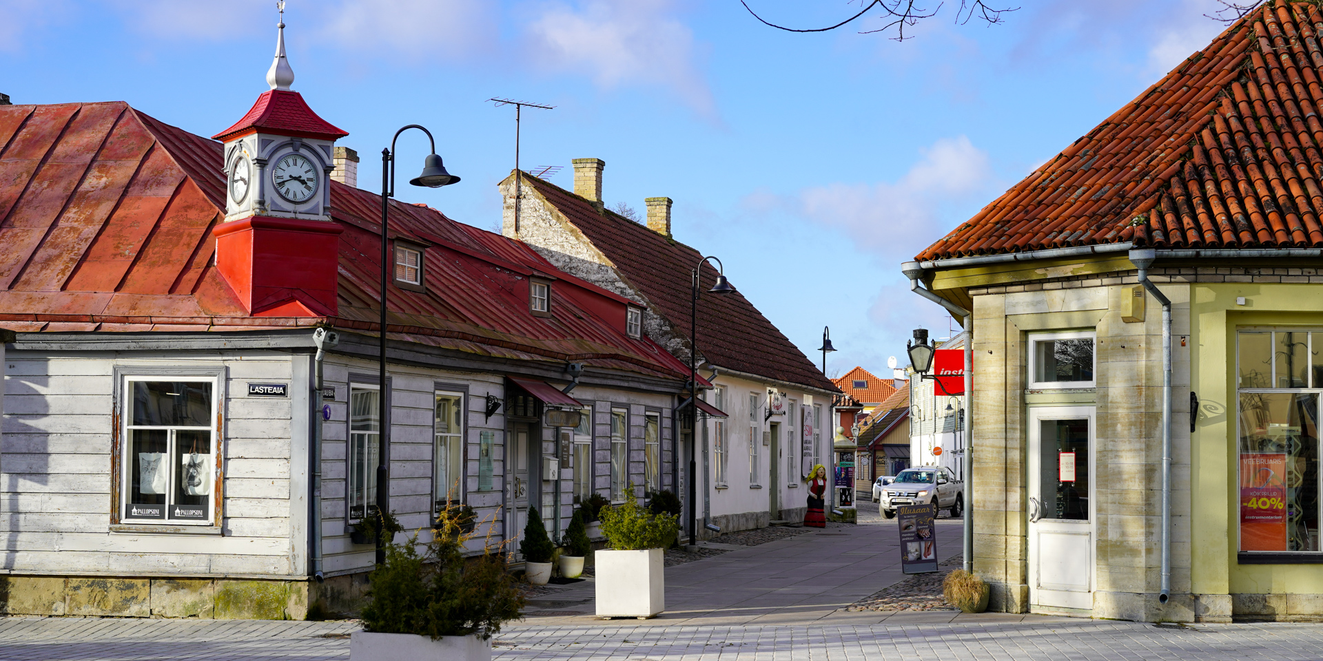 Kuressaare Old Town, Estonia