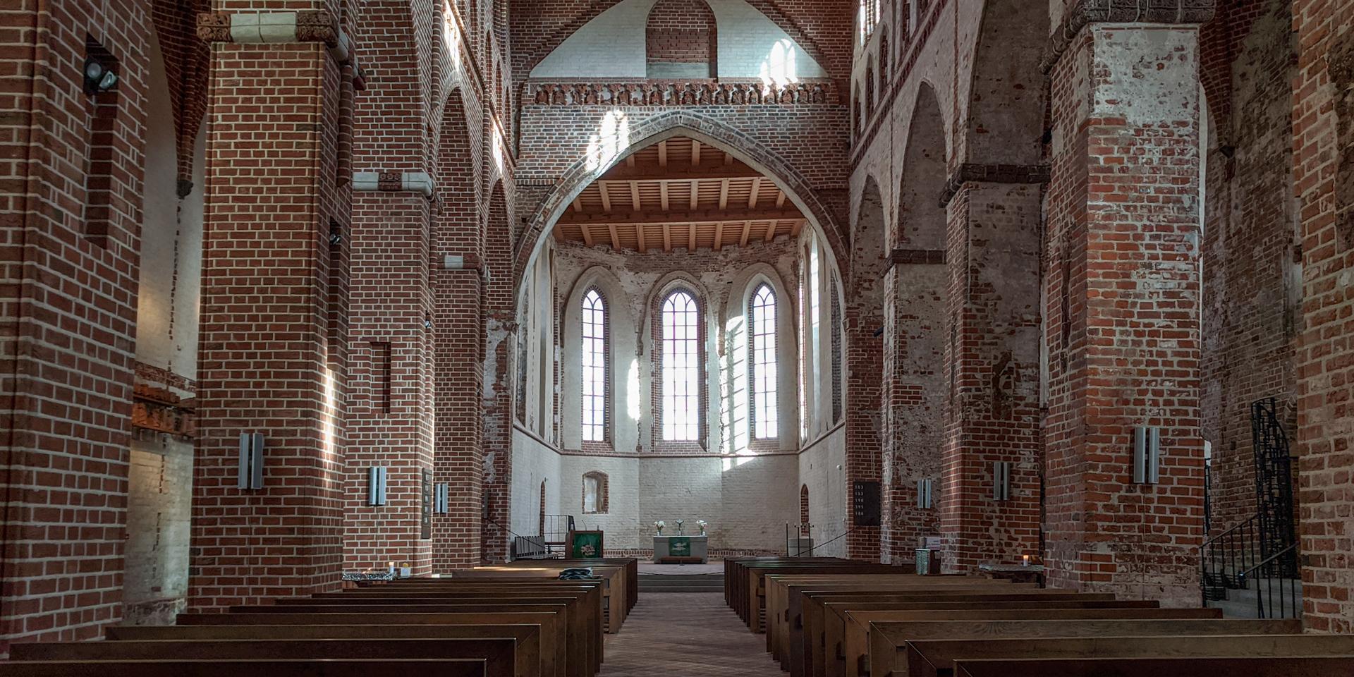 St John church in Tartu, Estonia