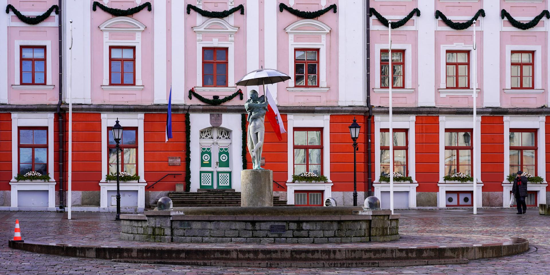 Tartu Town Hall Square, Estonia