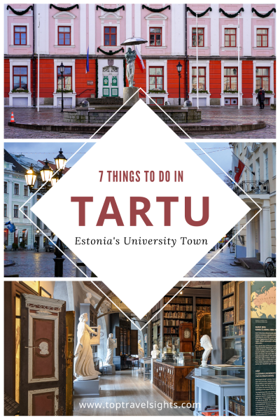 Pinterest graphic for Top 7 Things to Do in Tartu