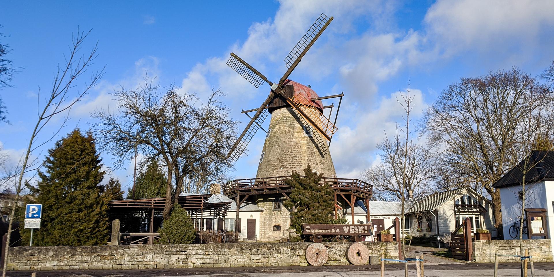 Windmill Restaurant Kuressaare, Estonia
