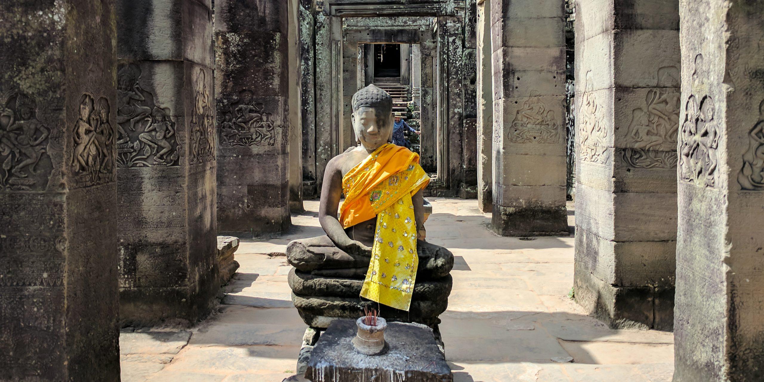 Buddha statue in Angkor Wat, Cambodia