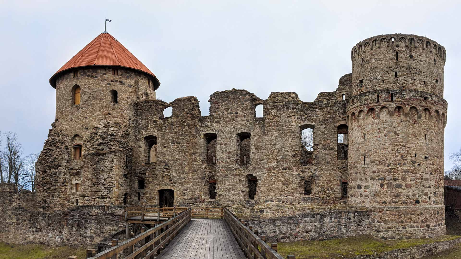 Old Castle of Cesis, Latvia