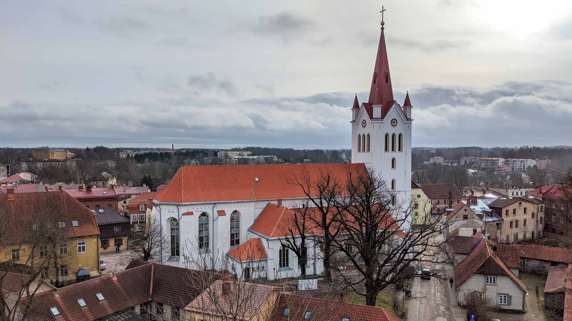 Church of Saint John's, Cesis, Latvia