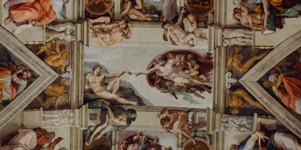 Paintings on the ceiling of the Sistine Chapel, Vatican