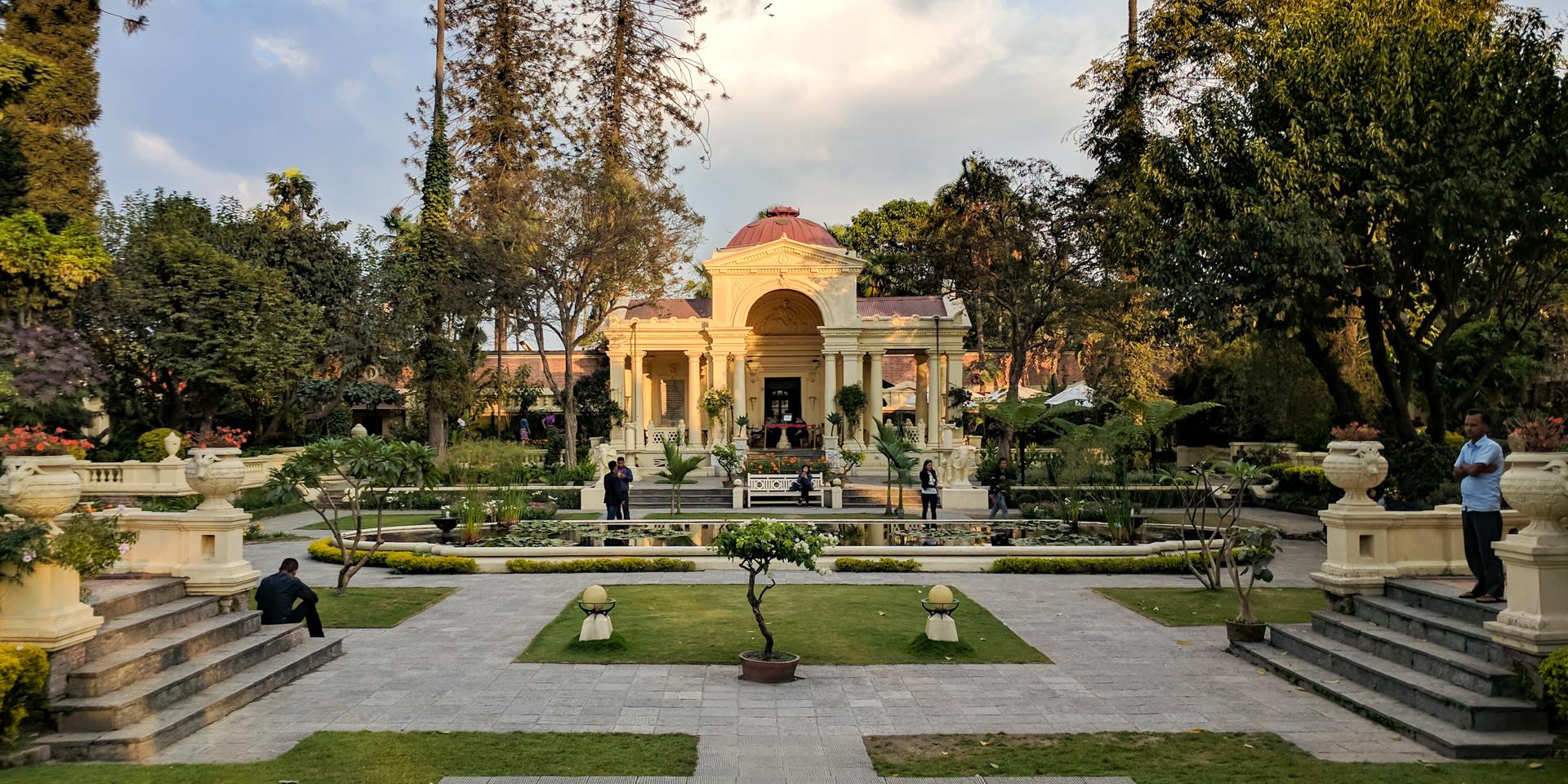 Garden of Dreams in Kathmandu, Nepal