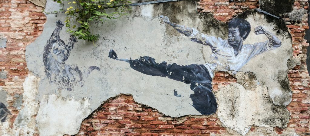 Bruce Lee, George Town, Penang, Malaysia