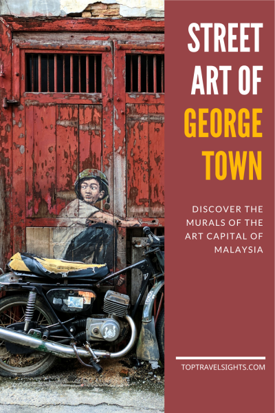 Pinterest Graphic for Street Art of George Town