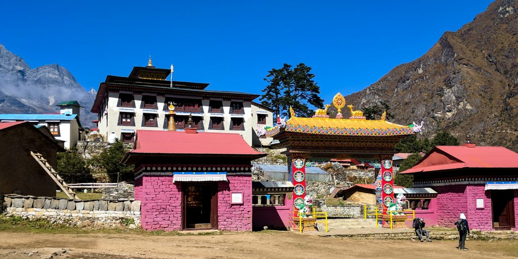 Front of Tengboche Monastery, Nepal