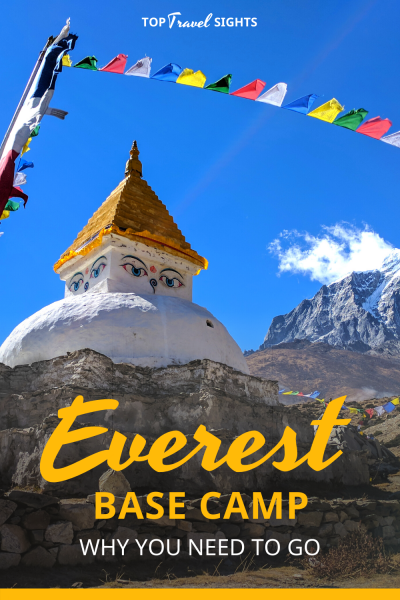 Top Reasons to Hike Everest Base Camp, Pinterest