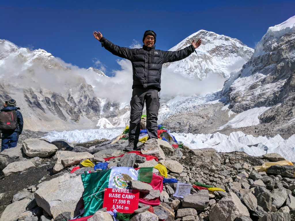 Top of Everest Base Camp, Nepal