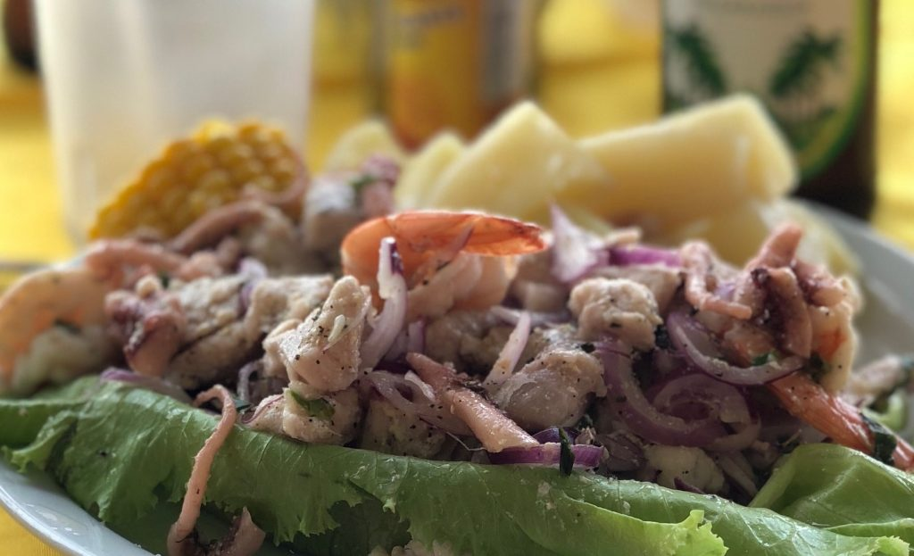 Ceviche from Costa Rica