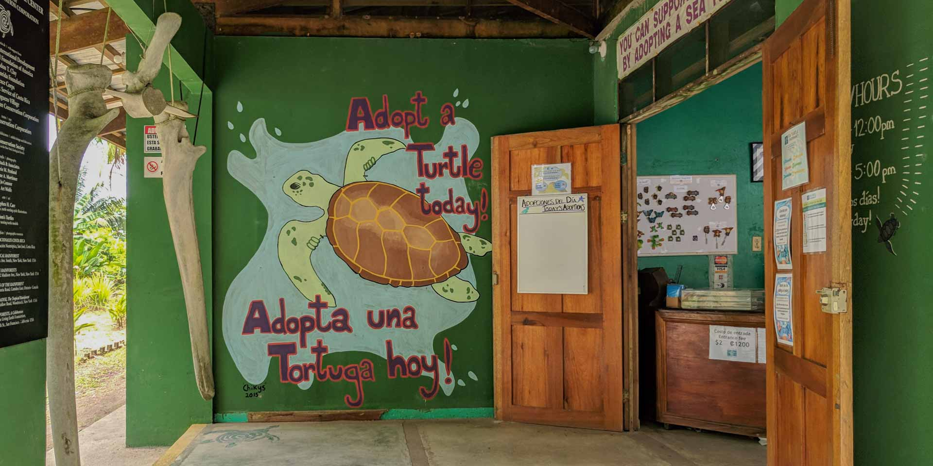 Turtle Conservation Visitor Centre, Tortuguero