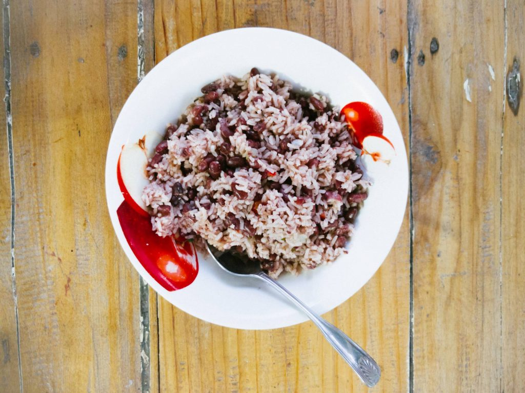 Rice and Beans in Costa Rica