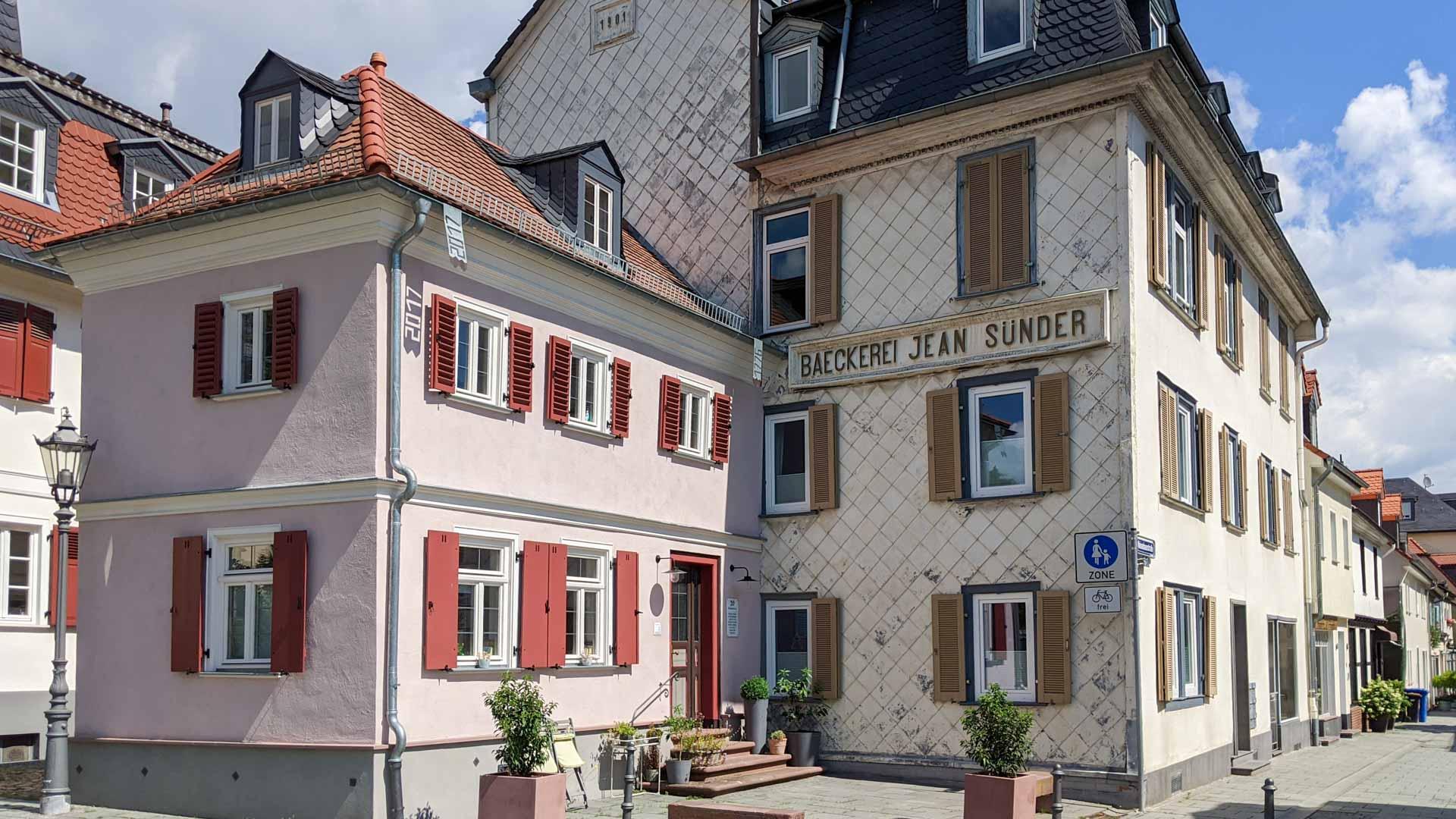 Dorotheen Street in Bad Homburg