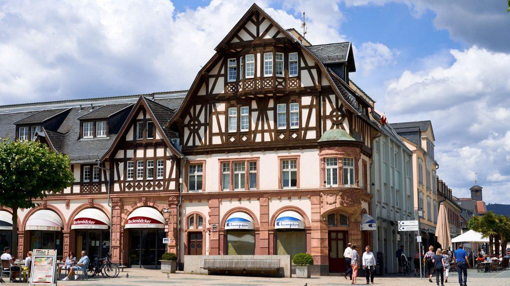 Marktlauben in Bad Homburg