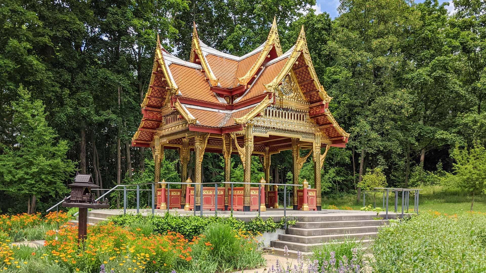 The Thai Sala in the Kurpark
