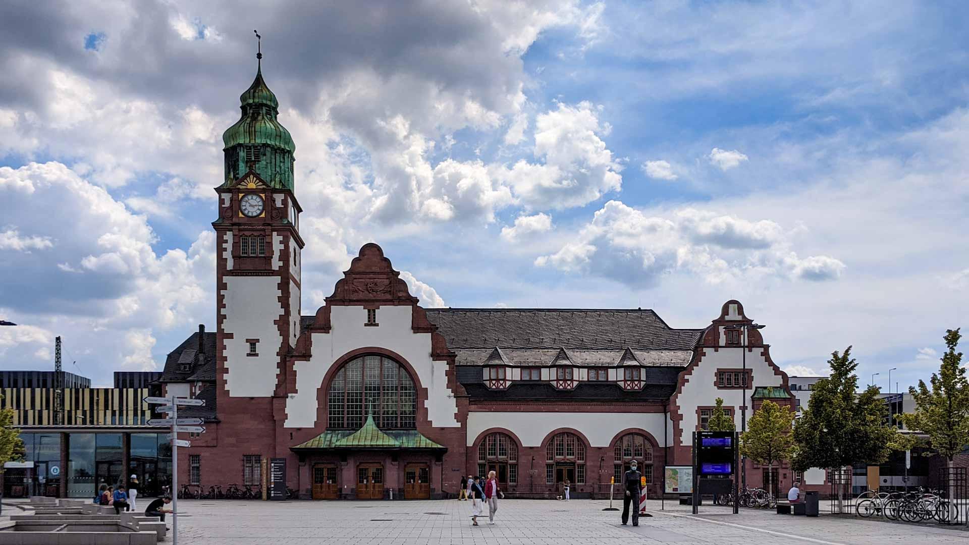 Main Station of Bad Homburg