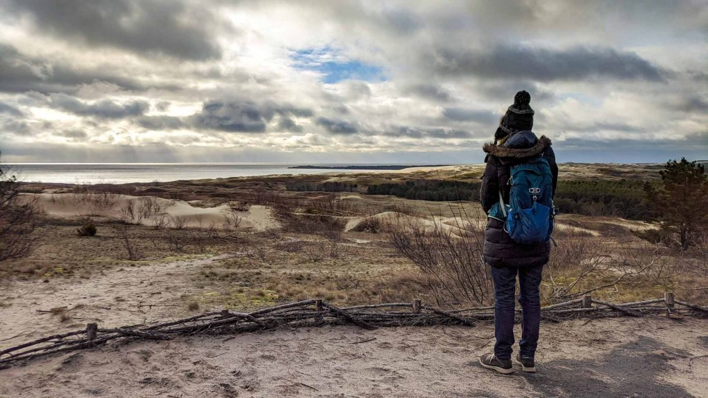 Overlooking the Parnidis Dune on the Curonian Spit