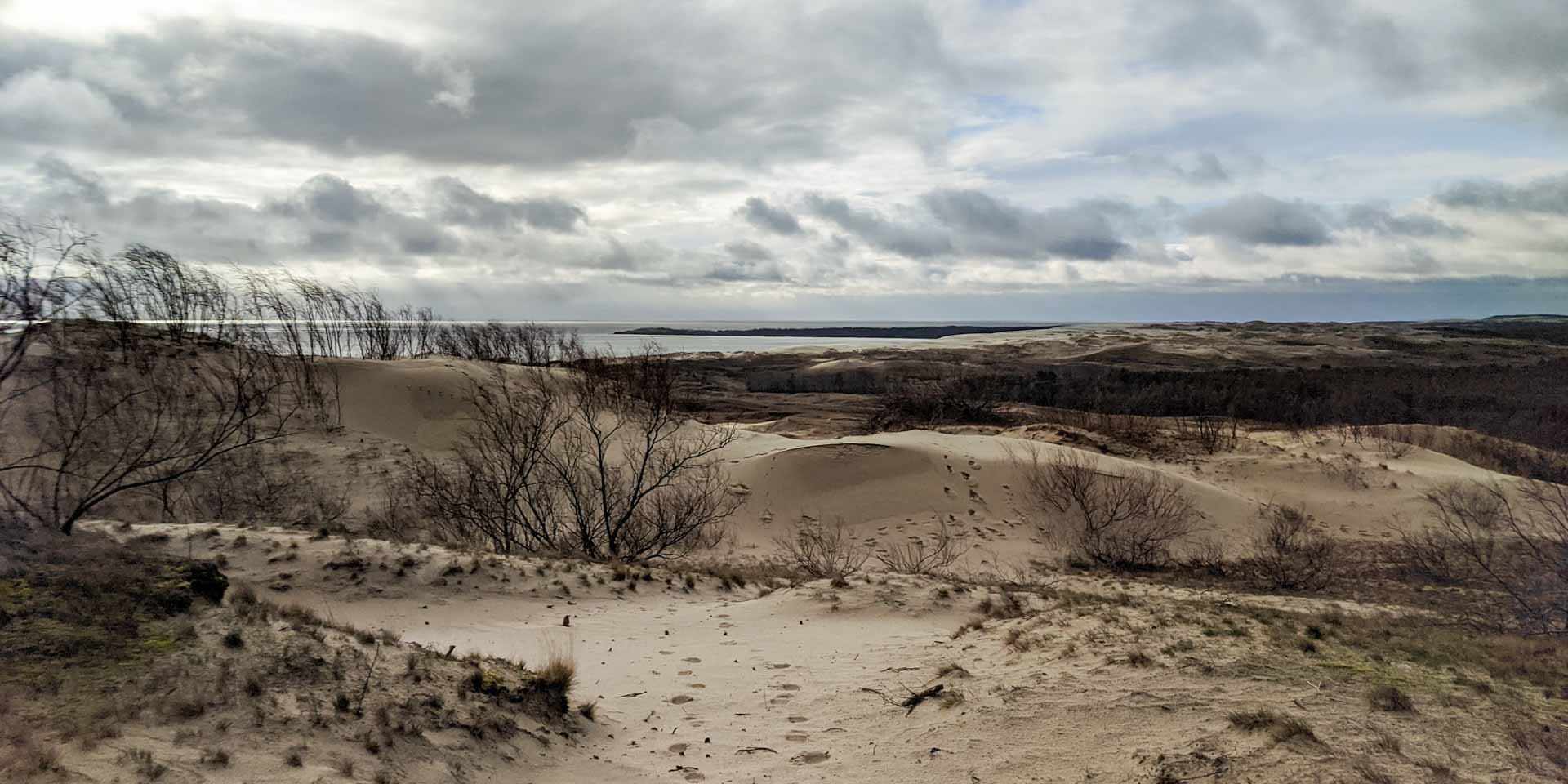 Parnidis Dune on the Curonian Spit