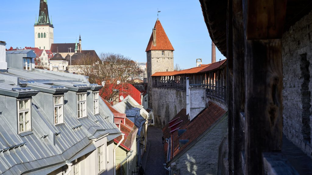 View from the Tallinn City Wall