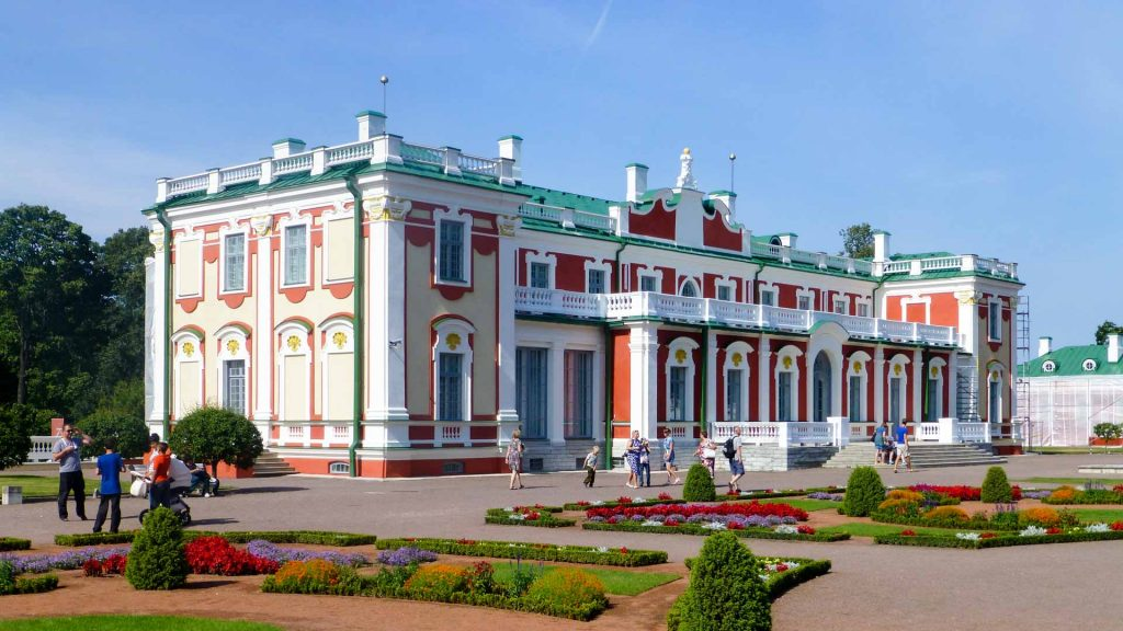 The Kadriorg Palace in Tallinn