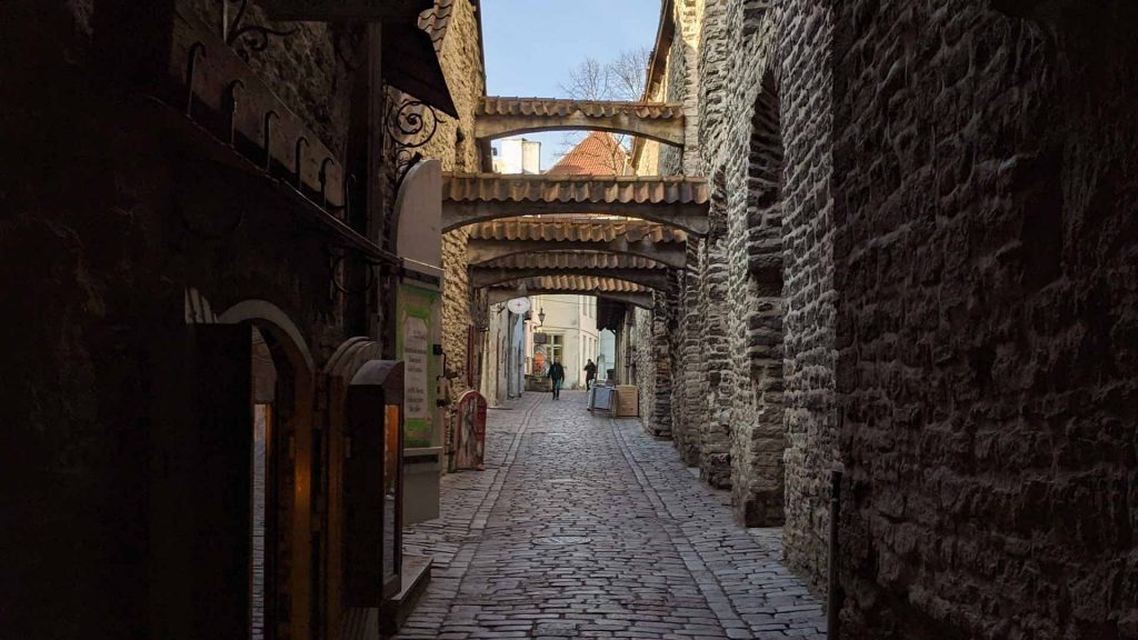 St Catherine's Passage in Tallinn