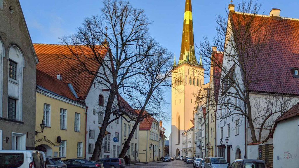 St Olaf's Church in Tallinn