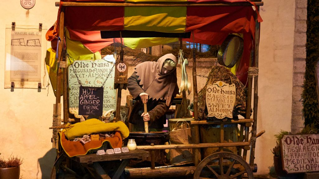 Street vendor in Tallinn