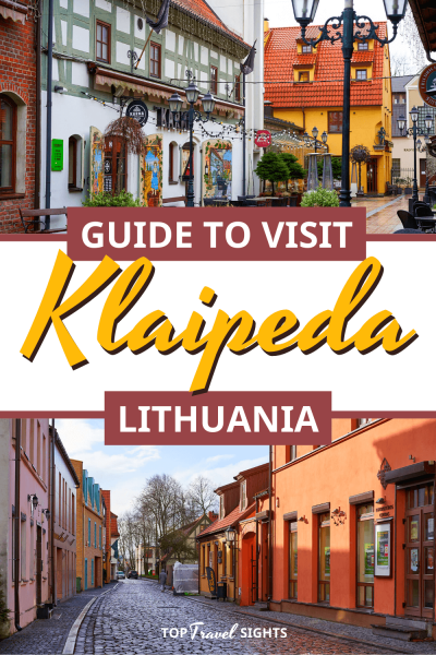 Pinterest image for top things to do in Klaipeda