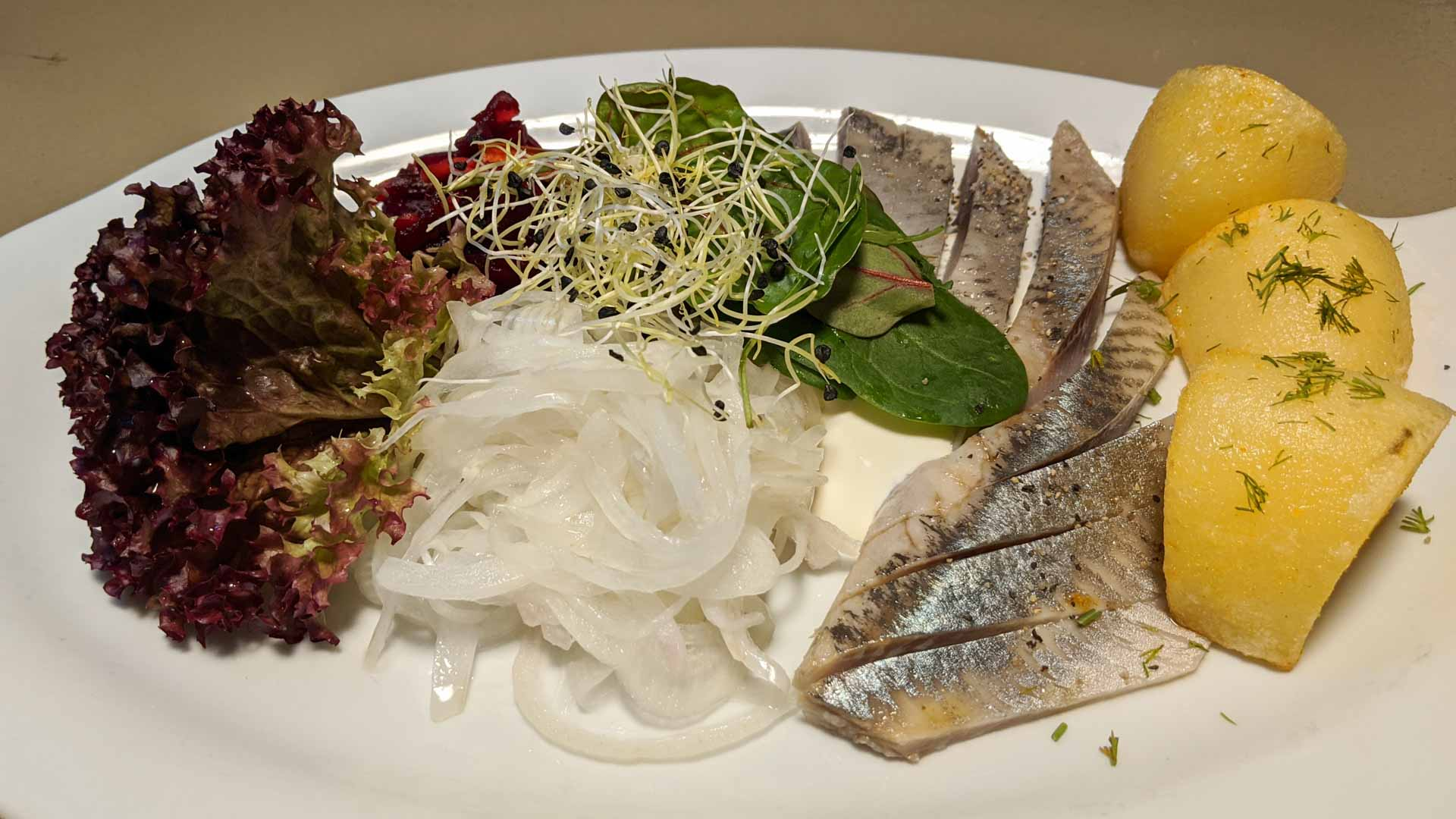 Herring served in the Baltics