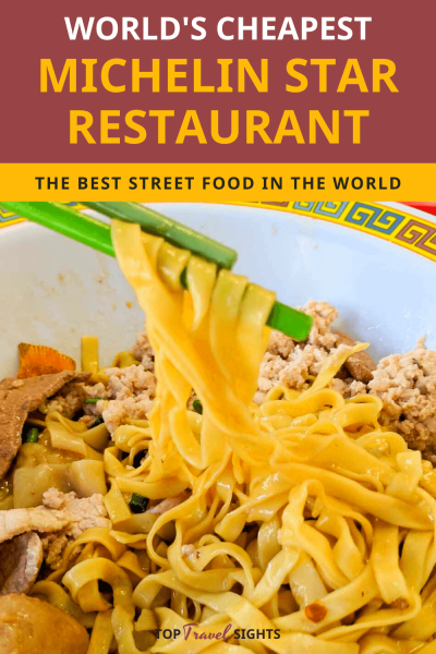 Pinterest image for Cheapest Michelin Star Restaurant World