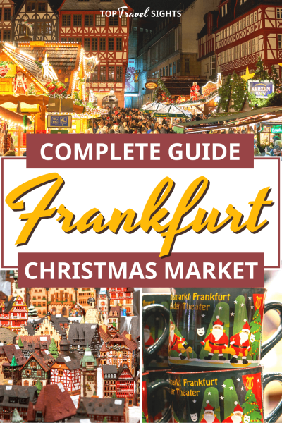 Pinterest image for Christmas Market Frankfurt