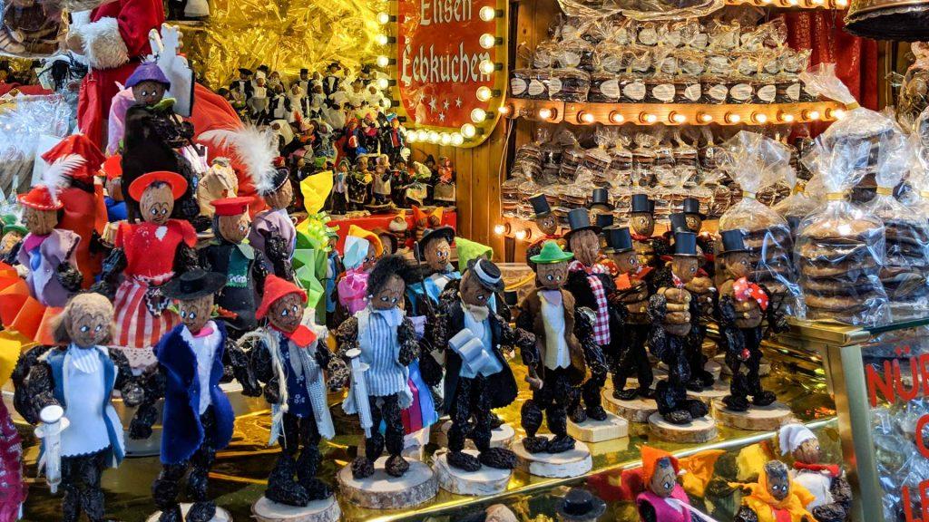 Quetschemaennchen at Christmas Market Frankfurt