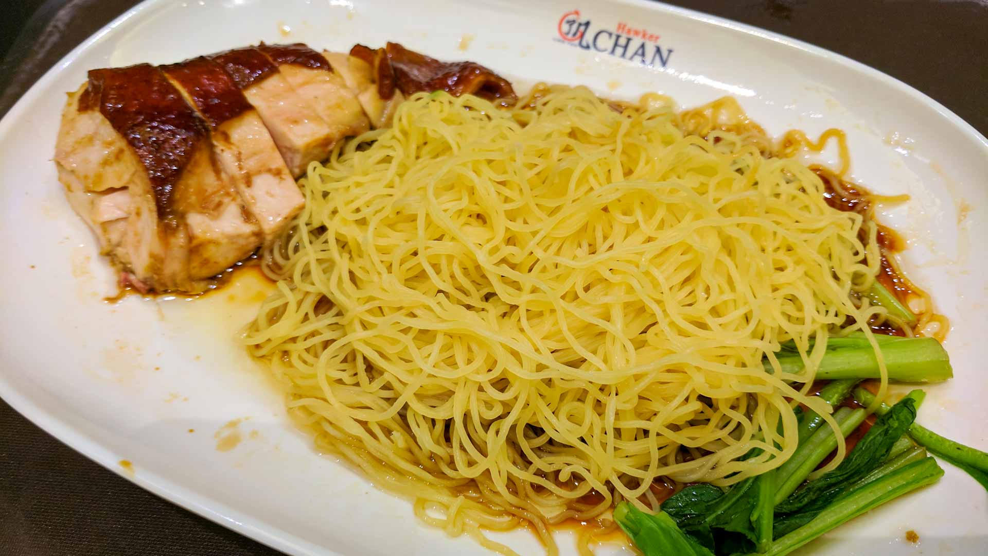 Singapore Hawker Chan Chicken with Noodles