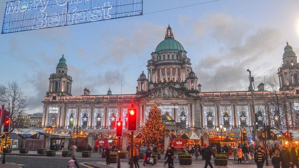 Belfast Christmas Market, UK