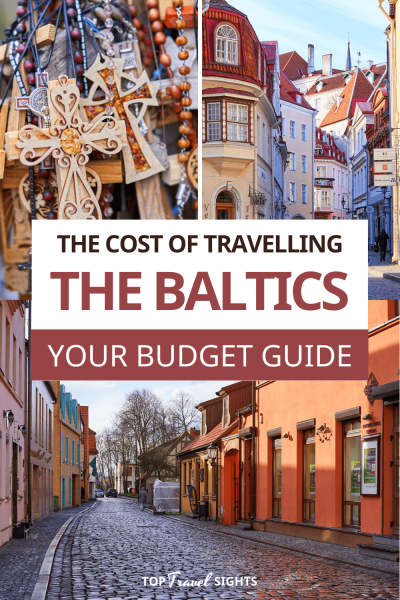 Pinterest Graphic for Budget for the Baltics